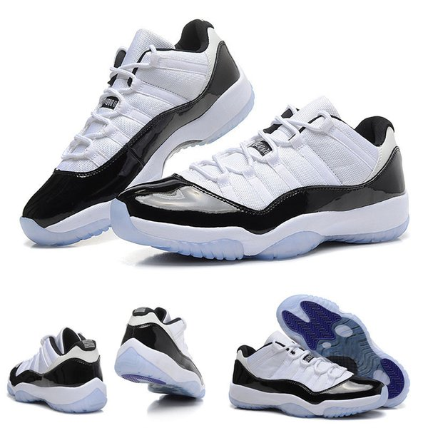 High Quality 11 Xi Space Jams Referee Black True Red Men \Basketball Sport Footwear Sneaker Trainers Shoes
