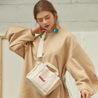 Women Shoulder Bag Hobo Super Large Capacity Canvas Handbag School Bags Lace Cover White Letter Embroidery Tote Shopping Bag