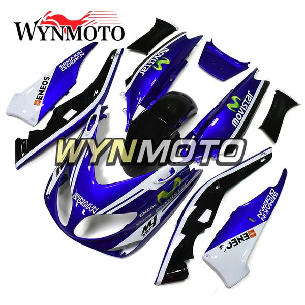 Motorradverkleidungen für Yamaha TMAX xp500 2001 2002 2003 2004 2005 2006 2007 ABS-Kunststoff-Einspritzmotorradverkleidung Blue Black White Kits