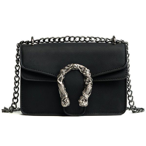 good quality Fashion Women Bags New Design Girls' Shoulder Bags Diagonal Quality Leather Lady Handbags Vintage Chains Small Bag