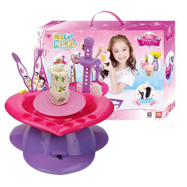 Электронная мини-керамическая машинка Глиняная машина ремесло аргил ремесло ручной работы Стимулирует практические способности ребенка подарок детям детская игрушка