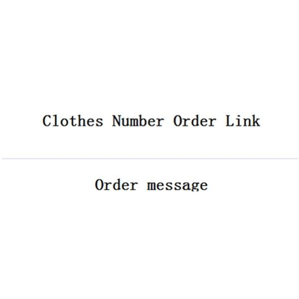 Kleidung Anzahl Bestell-Link