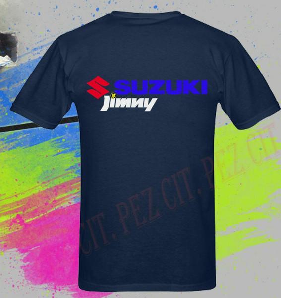 Çift Yan Suz Araba Jimny Macera Alnew Serisi Moda Marka Giyim Erkekler Baskı Orijinal Spor T Shirt