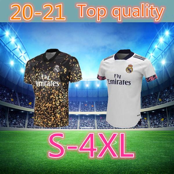 formato: S-4XL 20 21 Real Madrid calcio Jersey PERICOLO casa lontano camicia di calcio adulto ASENSIO ISCO MARCELO Madrid 19 20 uniformi di gioco del calcio