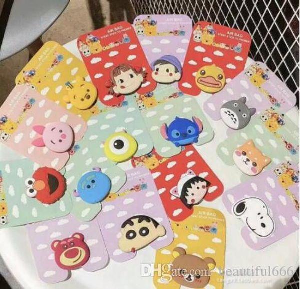 100% schöne Puppe Autotelefonhalter für Smartphone Desktop Airbag Ständer Sockel Tablets Unterstützung für iphone8plus Ipad Samsung Sony Blackberry