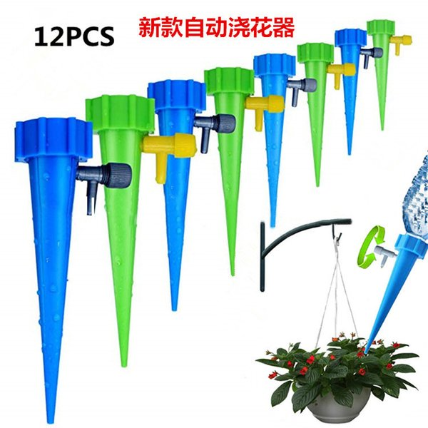 Drip irrigation system Plant Waterers DIY Automatic drip water spikes taper watering plants automatic houseplant watering