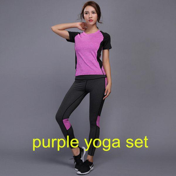 Purple Yoga Set