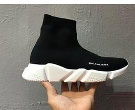 F16 2020 STARS Moda Nefes Aşıklar rahat ayakkabı SEVER Elastik Kumaş Unisex yüksek top spor ayakkabılar Zapatillas Eğitmenler Flats 36-45