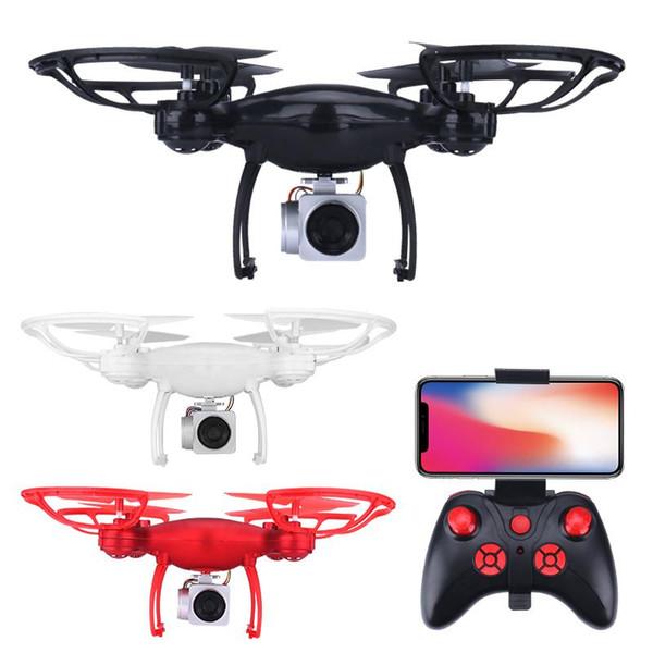WiFi FPV RC Drone 1080P камеры оптического потока RC Quadcopter самолета RC вертолет WiFi FPV Складная Altitude Удерживать игрушки Kid