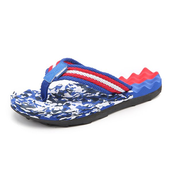 Korean Version Of The Trend Of Students Flip-flops Men's Slippers Slip Feet Summer Fashion Casual Tide Beach Sandals Large Size