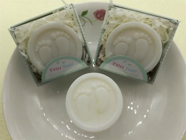 Baby Shower Wc Sapone Bomboniere Mini Feet Saponi Attività Piccolo regalo Romantico Rose Plant Fragrance Bath Portable Multi Foam Vendita calda 1 2sqE1