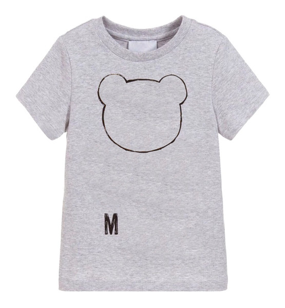 best selling Kids Designer T Shirts Boys Girls Luxury Letter Printed Tee Tops Children Brand Breathable Unisex T-shirts Girls Tshirts Boys Clothes