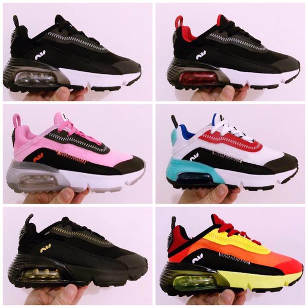 Nike Air Max Vapormax 2090 2020 Souliers d'enfants chaussures Presto enfants sport orthopédique jeunes enfants Formateurs pour nourrissons Filles Garçons chaussures