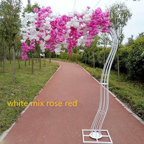miscela bianca rosa rossa