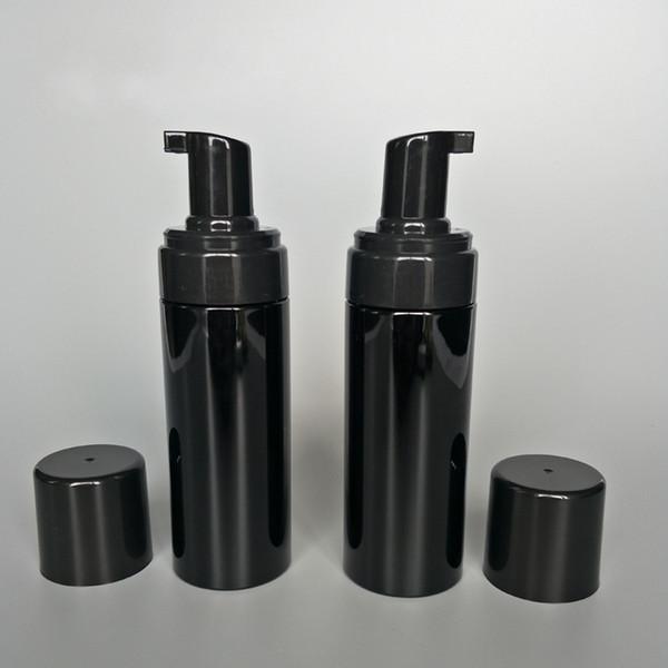 150g Plastic Refillable Travel Foamer Pump Bottle Body Wash black soap foaming pumps PET DIY Liquid Dish Soap