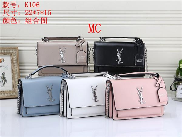 2019 hot sale fashion retro handbags purse womens leather bag chain bag crossbody bag and shoulder bags size:22cm*7cm*15cm