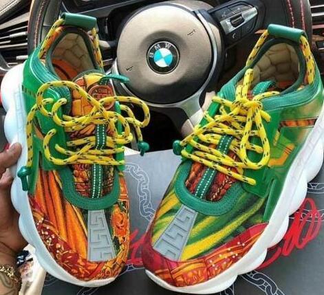 Designer Chain Reaction Men casual Shoes 039 Women Sports Trainers Moda Altezza crescente Casual Scarpe Sneakers vivt20