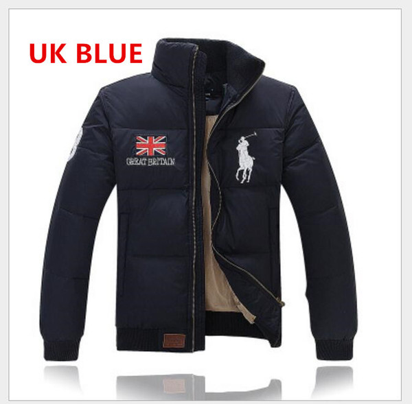 Бесплатная доставка мужчин зимняя куртка толстый с длинным рукавом пуховик зимнее пальто пуховики плюс размер стеганые мужчины пол верхняя одежда размер M-XXL