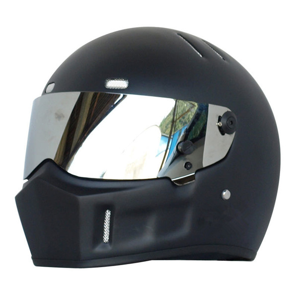 Full Face ATV Helmet Motorcycle Helmets Racing Dot Capacete de Moto Motociclista Para Motocross kask casco S M L XL XXL Matte Black