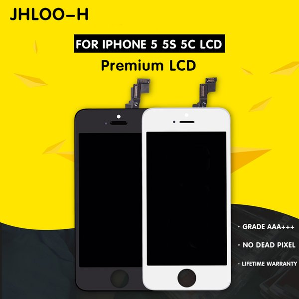 For iPhone 5 5C 5S LCD High Quality Screen Replacement No Dead Pixel Display 100% Test Guarantee