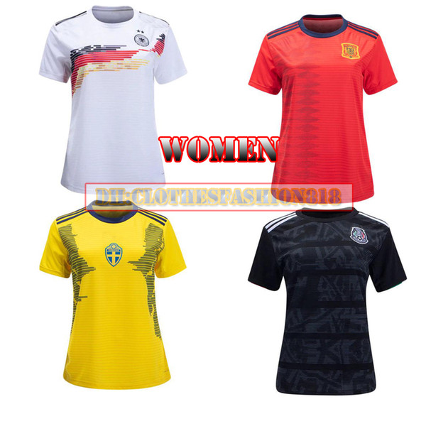 Mexico Jersey 2020 World Cup.2019 Brazilsl Germanyl Colombia 2019 World Cup Women Mexico Away Soccer Jersey Home Mbappe Sweden 2020 Spain Argentina 19 20 Football Shirt From