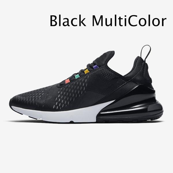 siyah çok renkli
