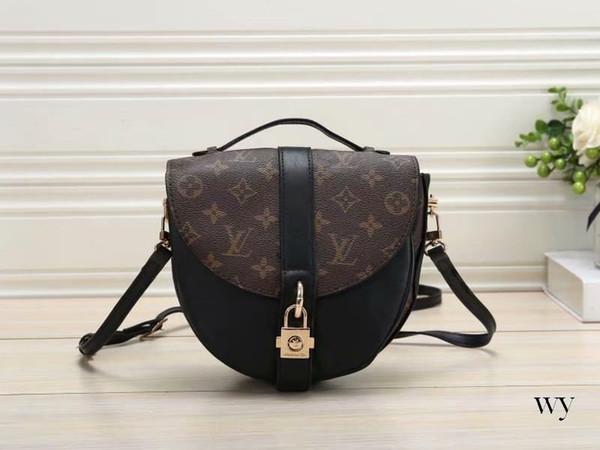 New Messenger Bag Ladies Handbag Chain Ring PU Leather Bags Retro Envelope Bag Diagonal Lady Shoulder Bag Designer Women Handbags Purses 107