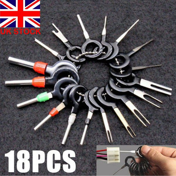 2019 Car Wire Terminal Removal Tool Wiring Connector Pin Extractor Wiring Puller on