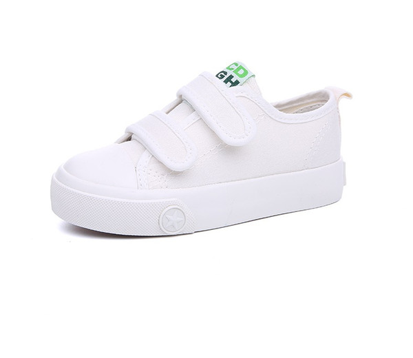 canvas shoes kids strap trainers little boy designer fashion shoes youth children student canvas shoes toddler