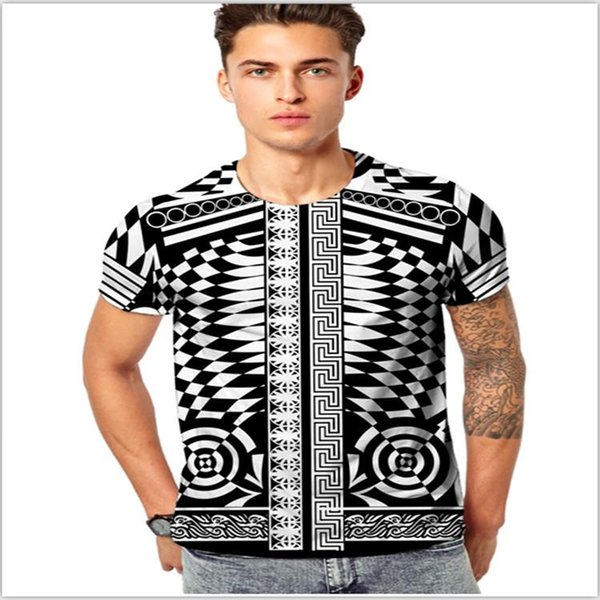 New Medusa Men T shirts Cotton Poloshirt Shirt 3D Floral Print Hip Hop Funny T shirts Fashion Casual Mens Tees Tops