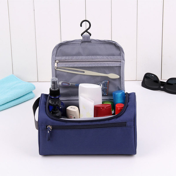 Travel make up bags waterproof oxford hanging Man Toiletry Bag women cosmetic case organizer washing package portable pouch