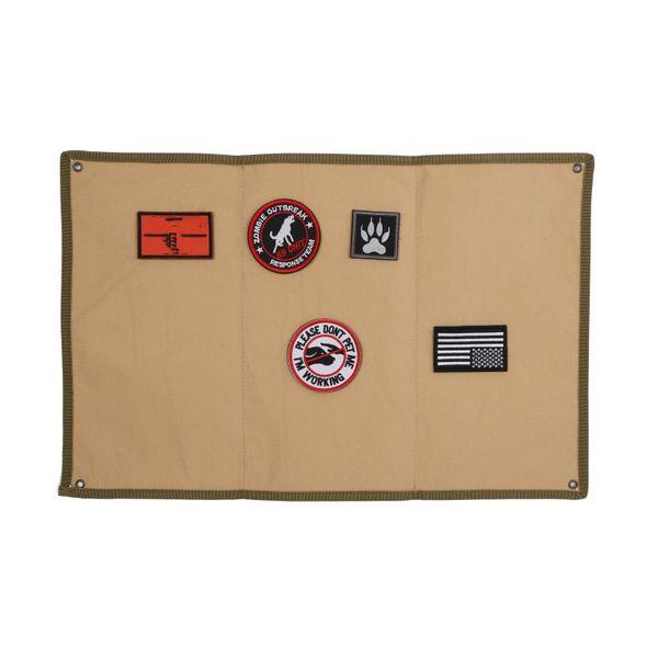 2018 New Military Patch Baord Cornice portafoto patch Morale fai da te Tattico militare portabastoncini Consiglio capitolo pastiglie pad # 85792