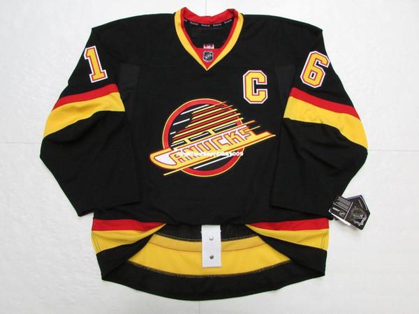 Cheap personalizzato Trevor Linden VANCOUVER CANUCKS FLYING SKATE EDGE 2.0 7287 JERSEY punto aggiungere qualsiasi numero qualsiasi nome Mens Hockey Jersey XS-6XL