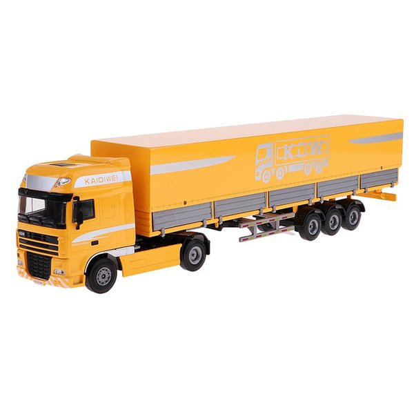 1/50 Simulation Transport Truck Construction Vehicle Model Collection Educational Toys Birthday Gift for Children Kids Toddler