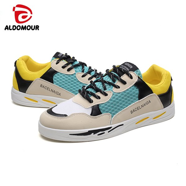 ALDOMOUR Running Shoes Women Breathable Sport Athletic Men Adult Summer2018 Mesh Female Sneakers Zapatillas Deportivas Hombre Bq