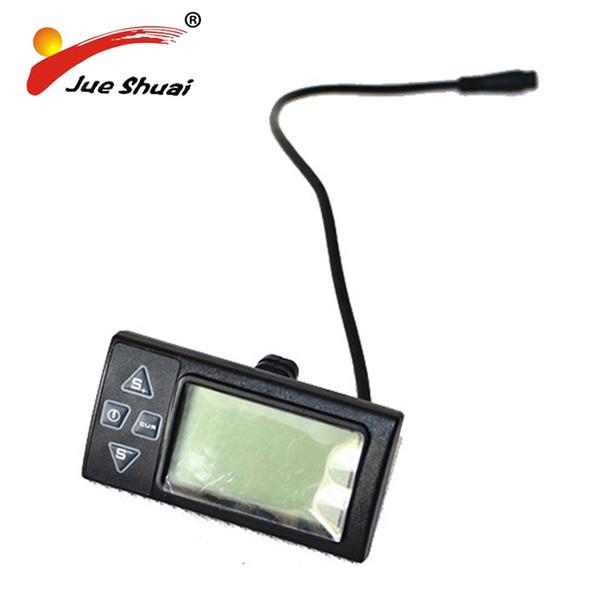 Jueshuai Bike Computer Electric Bicycle LCD Display for 36V Electric Bike Manual Control Panel Rainproof Bicycle Speedometer #106459