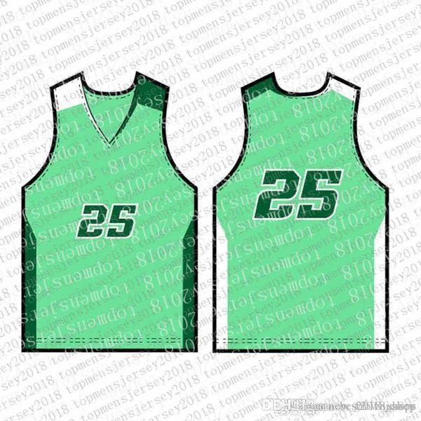 2020 Top Mens marchi del ricamo Jersey Trasporto libero a buon mercato all'ingrosso qualsiasi nome qualsiasi numero personalizzato di basket maglie d131316a