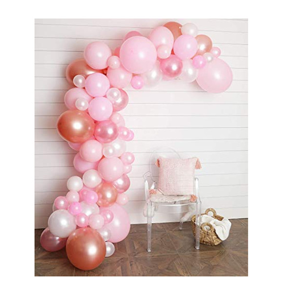 Balloon Arch & Garland Kit 80pcWedding, Baby Shower, Graduation, Anniversary Organic Party Decorations