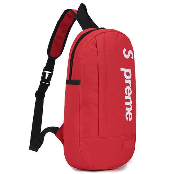 2019 High Quality Chest Pouch Bag Oxford Cloth Durable Waterproof Sling Zipper Waist Bag Cros