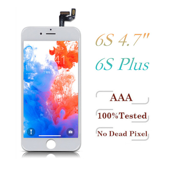 For iPhone 6S 6S Plus Tianma LCD Display Grade A +++ Touch Panels Screen Digitizer with Frame Full Assembly