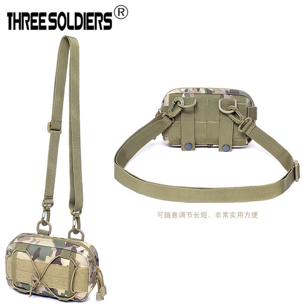 Outdoor Tactical Nylon Bag Military Waist Pack Molle Pouch Pocket Men Women Wallet Mobile Phone Bag Hunting running pouch #235080