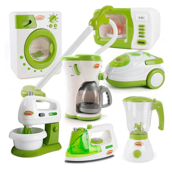 Mini juguetes de cocina Niñas bebés Niños juegan a la casa Juegos de simulación Juguetes Simulación Electrodomésticos Plástico Niños Modelo de cocina