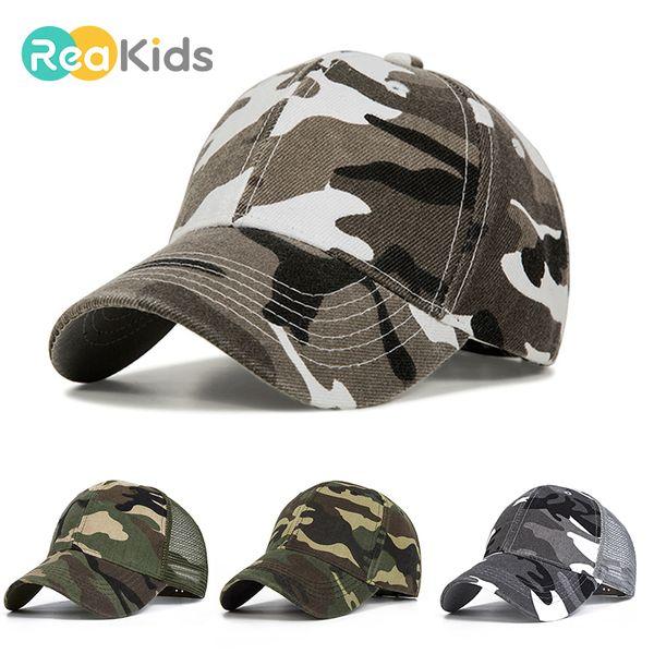 Camouflage Boy Mesh Baseball Cap Kids Cap Spring Summer For Boy Girl Cap Baby Casual Caps Summer Style Kids Hats