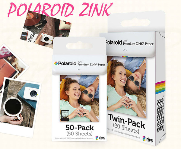 2x3 inch ZINK Film Photo Paper TWIN PACK (20 Sheets) for Snap Snap Touch Z2300 SocialMatic Instant Printer