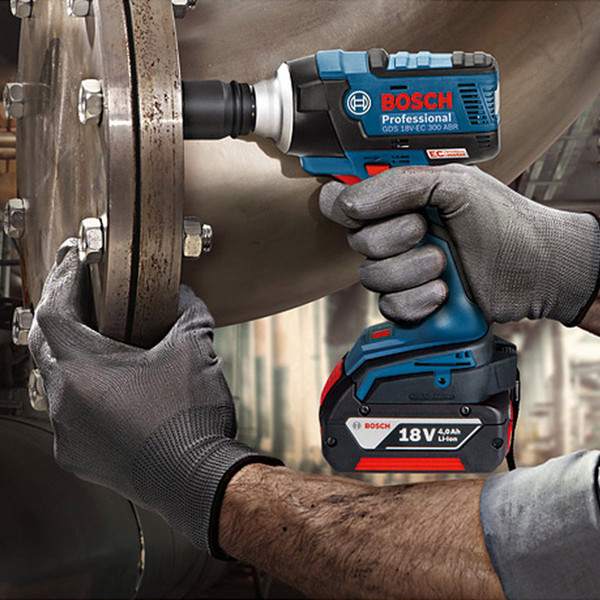 Bosch GDS 18V-EC 300 ABR Impact Wrench 18V Lithium Battery Rechargeable Electric Wrench Brushless Impact