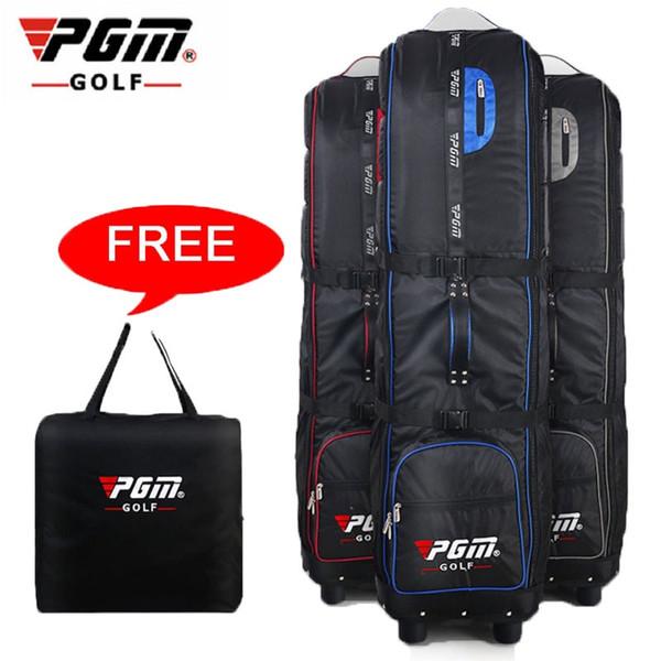 2019 pgm ultraleichte tragbare golf luftfahrt tasche golf air paket mit rädern reisetasche abdeckung taschen 3 farben d0070