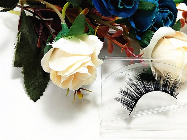 MINK Eyelashes Selling 1pair/lot 100% Real Siberian 3D Full Strip False Eyelash Long Individual Eyelashes Lashes Extension