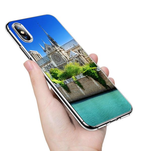 official photos 9350f 57b78 Famous Notre Dame De Paris Phone Case For IPhone 6 6S 7 7 Plus 8 8 Plus X  XS XR Max Soft Tpu Cases For Samsung S10 S10e S9 S8 Plus Note 8 9 Cell  Phone ...