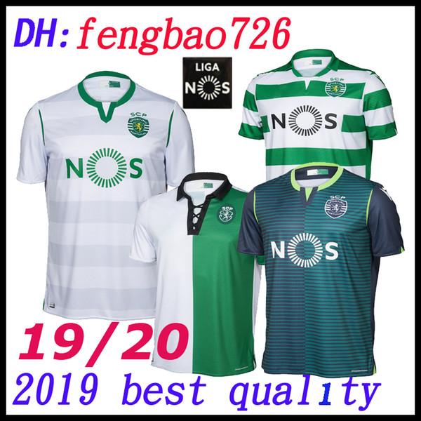 19 20 qualità thailandese Sporting Ronaldo maglia da calcio 2019 2020 Lisbona magliette da calcio vintage kit calcio Ronaldo Camisa de futebol Maillot
