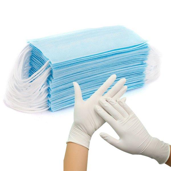 Свободные перчатки-белый цвет